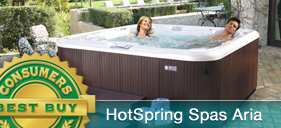 HotSpring Aria - a Consumer Digest Best Buy