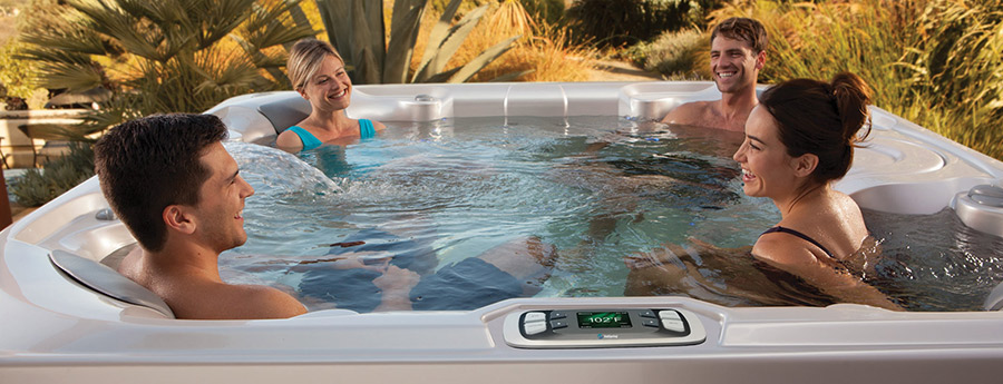 Hot Spring Spas Limelight - Pulse - 7 Adults - 50 Jets