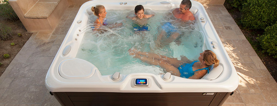 Hotspring Spas Highlife Collection of Hot Tubs